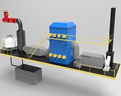 江蘇全自動工業廢氣處理裝置